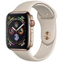 Apple Watch Series 4 GPS+Cellular, 44mm Gold Stainless Steel Case with Stone Sport Band, MTV72LL/A, 36143695, Wearable Technology - Apple