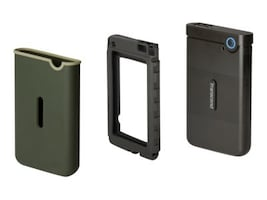 Transcend 2TB StoreJet 25M3G USB 3.1 Slim Portable Hard Drive - Iron Gray, TS2TSJ25M3S, 35520997, Hard Drives - External