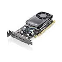 Lenovo NVIDIA Quadro P620 PCIe 3.0 x16 Low-Profile Graphics Card, 2GB GDDR5, 4X60R60469, 36254504, Graphics/Video Accelerators