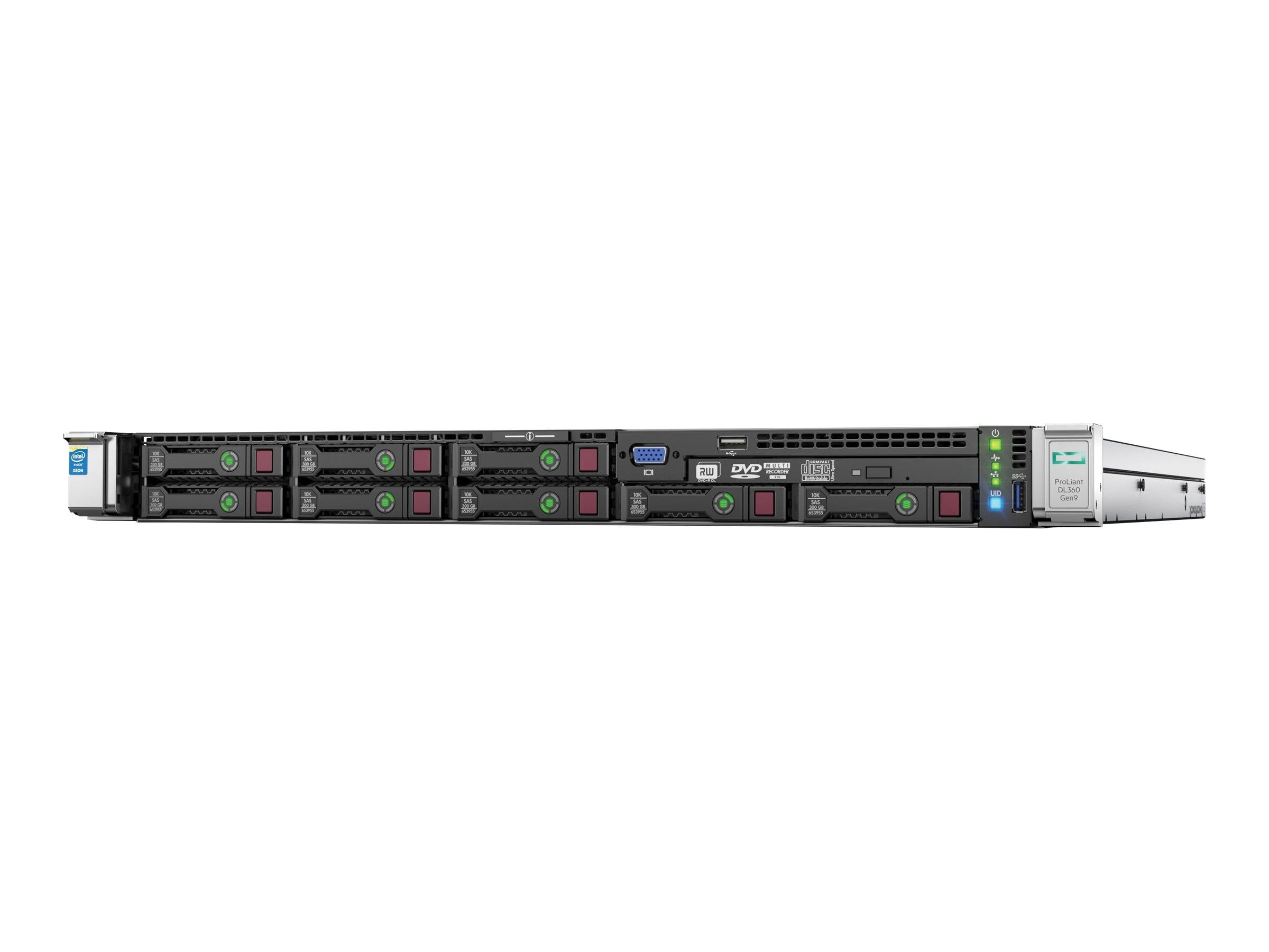 HPE ProLiant DL360 Gen9 Intel 2 1GHz Xeon