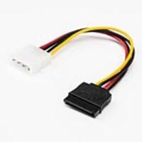 RocStorage 4-pin Molex to SATA LP4 Adapter, 6, Y10C214-B1, 36446434, Adapters & Port Converters