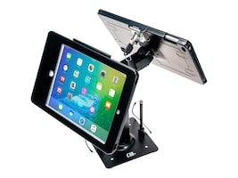 CTA Digital Secure Kiosk Dual Stand for iPad 5 6, iPad Pro 9.7, iPad Air, PAD-ASKB2, 36296915, Mounting Hardware - Miscellaneous