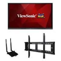 """ViewSonic 75"""" ViewBoard 4K Ultra HD Interactive Flat Panel Bundle, IFP7550-E1, 36540295, Monitors - Large Format - Touchscreen"""