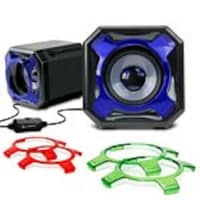 Accessory Power USB Computer Speakers, GGSVGS3100BKEW, 36551269, Speakers - PC