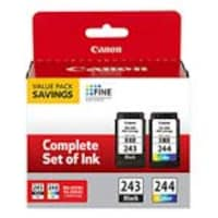 Canon PG-243 CL-244 Value Pack, 1287C006, 36971239, Ink Cartridges & Ink Refill Kits - OEM