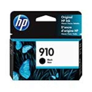 HP 910 (3YL61AN) Black Original Ink Cartridge, 3YL61AN#140, 36992822, Ink Cartridges & Ink Refill Kits - OEM