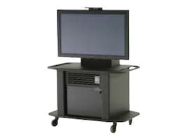 ClearOne Titan Single Plasma Cart for 42, 50, and 60 Screens, 911-300-101, 7371445, Computer Carts