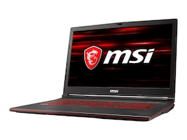 MSI GL73-8RD031 Core i7-8750H 2.6GHz 16GB 1TB+128GB ac BT WC GTX 1050TI 4GB 17.3 FHD W10, GL738RD031, 35389941, Notebooks