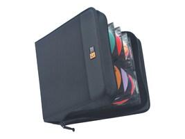 Case Logic CD Wallet; 208 Disc Capacity - Black Nylon, CDW-208, 223267, Media Storage Cases