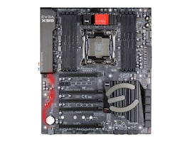 eVGA Motherboard, E-ATX X99 Max.128GB 10xSATA GbE, 151-BE-E097-KR, 32466420, Motherboards