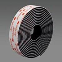 3M 0.5 x 50yd Dual Lock Reclosable Fastener, Black, SJ3551, 37099585, Mounting Hardware - Miscellaneous