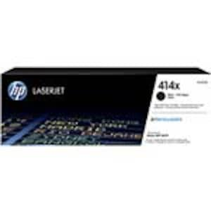 HP 414X (W2020X) High Yield Black Original LaserJet Toner Cartridge, W2020X, 37145182, Toner and Imaging Components - OEM