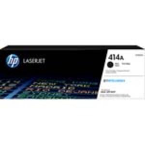 HP 414A (W2020A) Black Original LaserJet Toner Cartridge, W2020A, 37194831, Toner and Imaging Components - OEM