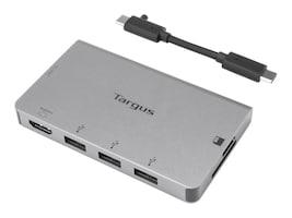Targus SILVER USBC SINGLE VIDEO MULTI PERPPORT HUB, ACA963BT, 38123410, USB & Firewire Hubs