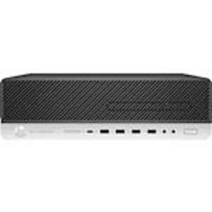 HP EliteDesk 800 G5 SFF Core i5-9600 3.1GHz 8GB 256GB SSD UHD630 DVD-W GbE VGA W10P64, 7ZB53US#ABA, 38307868, Desktops