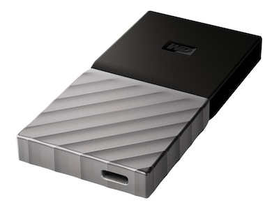 WD 512GB WD My Passport USB 3.1-C Portable Solid State Drive, WDBKVX5120PSL-WESN, 37303056, Solid State Drives - External