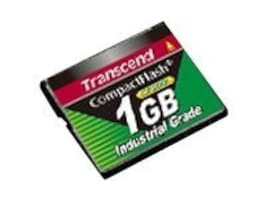 Transcend 1GB CompactFlash Card, TS1GCF200I, 33655791, Memory - Flash