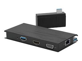 VisionTek VT100 Dual-Monitor Universal Portable Dock, 901200, 38024180, Docking Stations & Port Replicators
