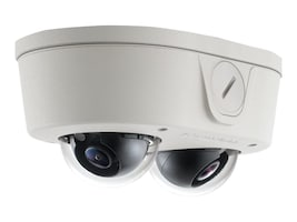 Arecontvision MicroDome Duo 6MP, H.264 IP Camera, AV6656DN-28, 38011012, Cameras - Security