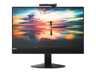 Lenovo TopSeller ThinkCentre M820z AIO Core i5-8400 2.8GHz 8GB 256GB OPAL DVD+RW ac BT WC 21.5 FHD W10P64, 10SC0013US, 35977372, Desktops - All-in-One