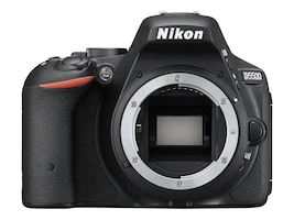 Nikon D5500 DSLR Camera with 18-55mm Lens, Black, 1546, 32646578, Cameras - Digital
