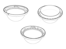 Bosch Security Systems AutoDome Large In-Ceiling Dome Bubble, Clear, VGA-BUBLRG-CCLA, 16135399, Mounting Hardware - Miscellaneous