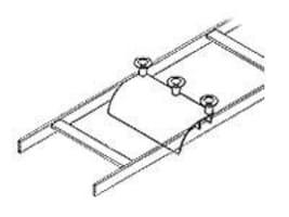 Chatsworth Cable Runway Radius Drop, Cross Member, 12100-712, 6704851, Premise Wiring Equipment