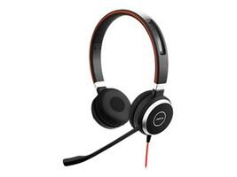 Lenovo Jabra EVOLVE 40 MS Duo USB Headset, 4Z20K27928, 32114109, Headsets (w/ microphone)