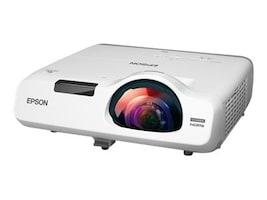 Epson PowerLite 525W WXGA 3LCD Projector, 2800 Lumens, White, V11H672020, 18101168, Projectors