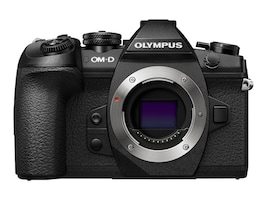 Olympus OM-D E-M1 Mark II Mirrorless Micro Four Thirds Digital Camera, Black (Body Only), V207060BU000, 33200017, Cameras - Digital