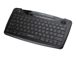 IOGEAR Wireless Handheld Smart TV Keyboard w  Trackball, GKB635W, 35122526, Keyboards & Keypads