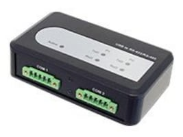 Siig 2-PORT INDUSTRIAL USB TO 422 4, ID-SC0911-S1, 41140235, Network Hubs