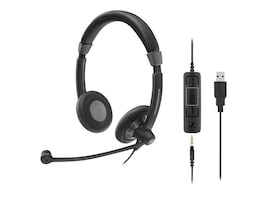 Sennheiser SC75 USB MS Headset, 507086, 32859813, Headsets (w/ microphone)