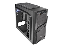 Thermaltake Chassis, Commander G42 Mid Tower ATX mATX 7x3.5 Bays 3x5.25 Bays 9xSlots Window No PSU, CA-1B5-00M1WN-00, 16976489, Cases - Systems/Servers
