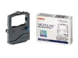 Oki Black Print Ribbon for the Okidata ML420 421 & ML490 ML491, 42377801, 423653, Printer Ribbons