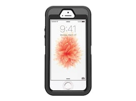 OtterBox Defender for iPhone 5 5S SE, Black, Pro Pack, 77-55632, 33831599, Carrying Cases - Phones/PDAs