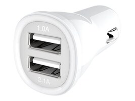 Kanex USB Car Charger, 2-Port 1A 2.1A, CLA2PORT, 17488313, Automobile/Airline Power Adapters