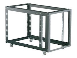 Black Box 4-Post Modular Rack with Adjustable M6 Rails, RMT625A, 10182792, Racks & Cabinets
