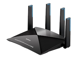 Netgear Nighthawk X10 Mulit-Band WiFi Router, R9000-100NAS, 32828961, Wireless Routers