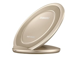 Samsung Fast Charge Wireless Charging Stand, Gold, EP-NG930TFUGUS, 33965790, Battery Chargers