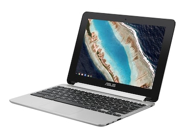 Asus Chromebook Flip RK3399 2.0GHz 4GB 16GB eMMC ac BT WC 10.1 WXGA MT Chrome OS, C101PA-DB02, 35388447, Notebooks - Convertible
