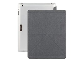 Moshi iGlaze Versacover iPad 3 Trnslc, 99MO056901, 14818583, Carrying Cases - Tablets & eReaders