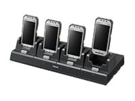 Panasonic 4-Bay Desktop Cradle w  110W Power Supply, AC Cord for FZ-N1, FZ-VEBN121M, 32082320, Battery Chargers
