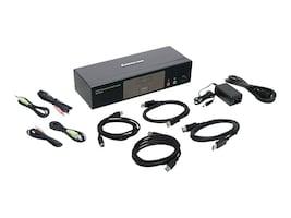 IOGEAR 2-Port 4K DisplayPort KVMP Switch w  Dual Video Out & RS-232, GCS1932M, 35451266, KVM Switches