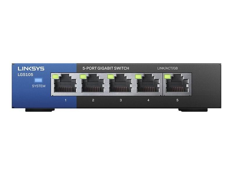 Linksys 5-Port Gigabit Switch, LGS105, 16303583, Network Switches