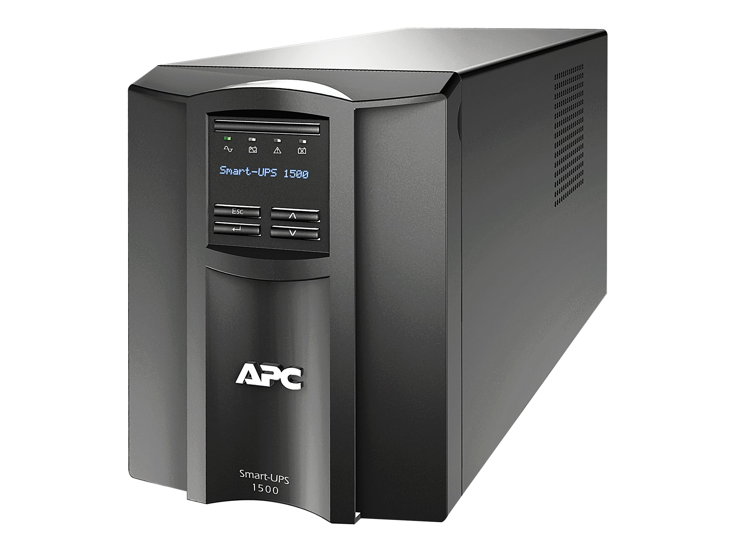 APC Smart-UPS 1500VA 980W 120V LCD Tower UPS (8) 5-15R Outlets USB Serial, Instant Rebate - Save $15, SMT1500, 10334485, Battery Backup/UPS