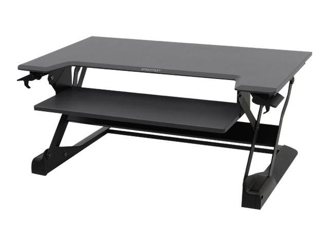 Ergotron WorkFit-TL Sit-Stand Desktop Workstation, Black, 33-406-085, 30657071, Furniture - Miscellaneous