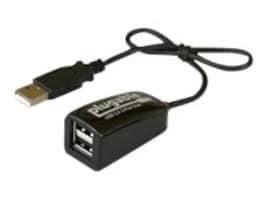Plugable 2-Port USB 2.0 Hub, USB2-2PORT, 30988355, USB & Firewire Hubs