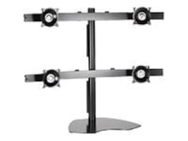 Chief Manufacturing Widescreen Quad (2x2) Monitor Table Stand, Black, KTP445B, 12901922, Stands & Mounts - Desktop Monitors
