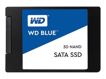 WD 500GB WD Blue SATA 6Gb s 3D NAND 2.5 7mm Internal Solid State Drive, WDS500G2B0A, 34525227, Solid State Drives - Internal
